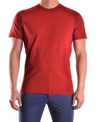 Yohji Yamamoto - Men's Mcbi317032o Red Cotton T-shirt - Lyst