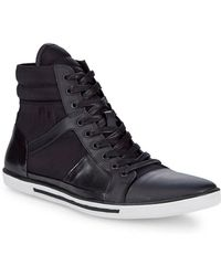 Kenneth Cole - Upside-down Leather Sneaker - Lyst