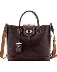 Dooney & Bourke - Florentine Toscana Side Zip Tote - Lyst