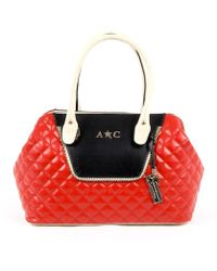 Andrew Charles by Andy Hilfiger - Andrew Charles Womens Handbag Red Dalya - Lyst