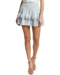 Rebecca Taylor - Gauze A-line Skirt - Lyst