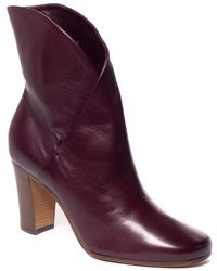 Céline - Leather Ankle Boot - Lyst