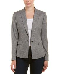Reiss - Hampstead Tailored Wool-blend Jacket - Lyst