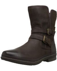 UGG - Women's Simmens Lined With Plush Wool Leather Boot - Lyst