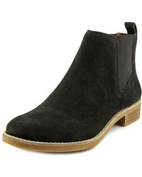 Lucky Brand - Noahh Slip-on Leather Ankle Boots - Lyst