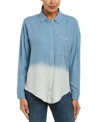 Splendid - Ombre Boyfriend Button Down Shirt - Lyst