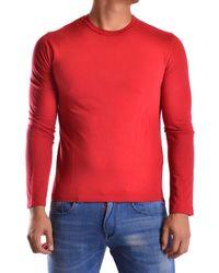 Bikkembergs - Men's Mcbi042090o Red Cotton T-shirt - Lyst