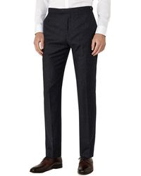Reiss - Kreider T Slim Fit Wool-blend Trouser - Lyst
