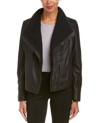 T Tahari - Leather Jacket - Lyst