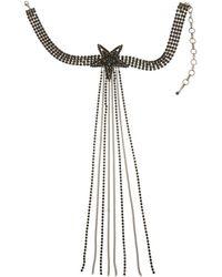 Sugar NY - Rox Star Choker Necklace - Lyst