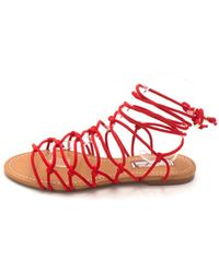 1e85d4b885120c INC International Concepts - Womens Gallena Round Toe Casual Strappy Sandals  - Lyst