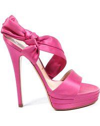 89e344a136ce Lyst - Alexander Mcqueen Ladies Sandals in Pink