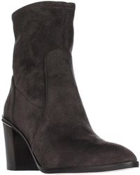 Michael Kors - Michael Chase Ankle Booties - Charcoal - Lyst