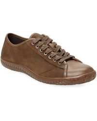 John Varvatos - Lace-up Low-top Trainer - Lyst