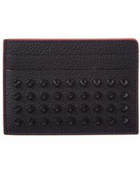 Christian Louboutin | Kios Leather Card Holder | Lyst