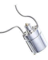 Jewelista - Silver & 18k Gold Plated Bottle Locket Necklace - Lyst