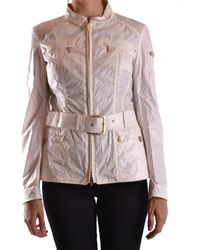 Geospirit - Women's Beige Cotton Outerwear Jacket - Lyst