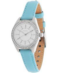 Fossil - Watch Light Blue Bq1453 - Lyst