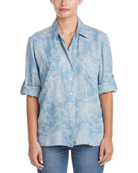 4our Dreamers - Paisley Woven Shirt - Lyst