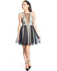 ABS By Allen Schwartz - Paige V-back Dress - Lyst