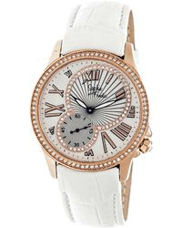 Sophie & Freda - Toronto Mother-of-pearl Leather-band Watch - Lyst