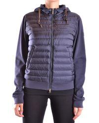 Add - Women's Blue Polyamide Down Jacket - Lyst