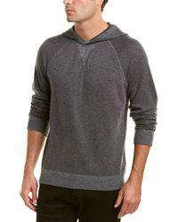 Vince - Birdseye Wool & Cashmere-blend Hoodie - Lyst