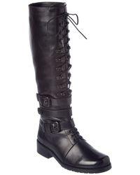 Stuart Weitzman - Policelady Leather Boot - Lyst