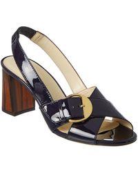 Bettye Muller - Pepper Patent Sandal - Lyst