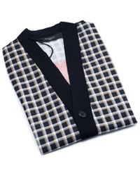 Givenchy | Men's Black 100% Wool Printed Cardigan | Lyst
