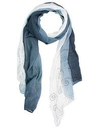 Saachi - Crystal Ombre Scarf - Lyst