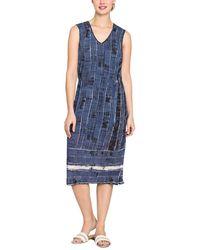 NIC+ZOE - Coastline Dress (multi) Women's Dress - Lyst