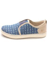 b.ø.c. - Womens Callisto Leather Low Top Slip On Fashion Sneakers - Lyst