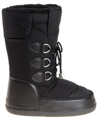 DSquared² - Men's Black Polyamide Ankle Boots - Lyst