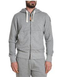 Parajumpers - Men's Grey Cotton Sweatshirt - Lyst
