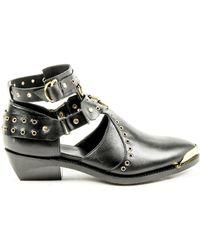 Balmain - Womens Ankle Boot - Lyst