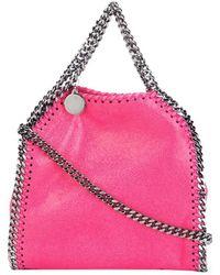 Stella McCartney - Women's Fuchsia Faux Leather Shoulder Bag - Lyst