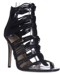 Via Spiga - Terelle Strappy Dress Sandals - Black - Lyst