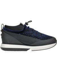 Alexander Smith - Women's Blue Faux Leather Sneakers - Lyst
