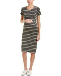 Everly Grey - Maternity Camila Shift Dress - Lyst
