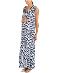 Everly Grey - Maternity Jill Maxi Dress - Lyst