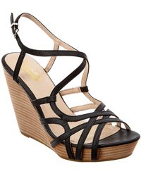 Seychelles - Diligent Leather Wedge Sandal - Lyst