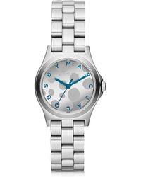 Marc By Marc Jacobs - Women's Silver Steel Watch - Lyst