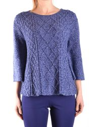 Jacob Cohen - Women's Blue Cashmere Sweater - Lyst