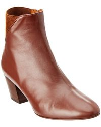 Aquatalia - Flaviana Waterproof Leather Bootie - Lyst