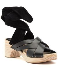 Free People - Womens Emmy Open Toe Casual Ankle Strap Sandals - Lyst