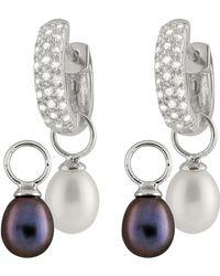 Splendid - Day & Night Interchangeable Earrings - Lyst