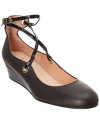 French Sole - Wheel Leather Flat - Lyst