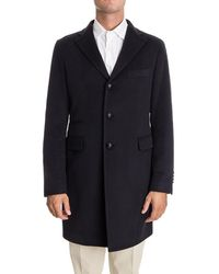 Tagliatore - Single-breasted Coat - Lyst