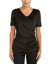 Lyssé - Short Sleeve Gauze Top - Lyst
